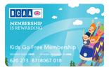 kids go free membership card