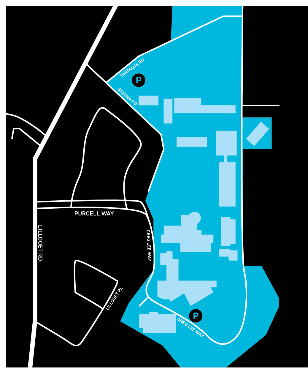 Capilano University Map