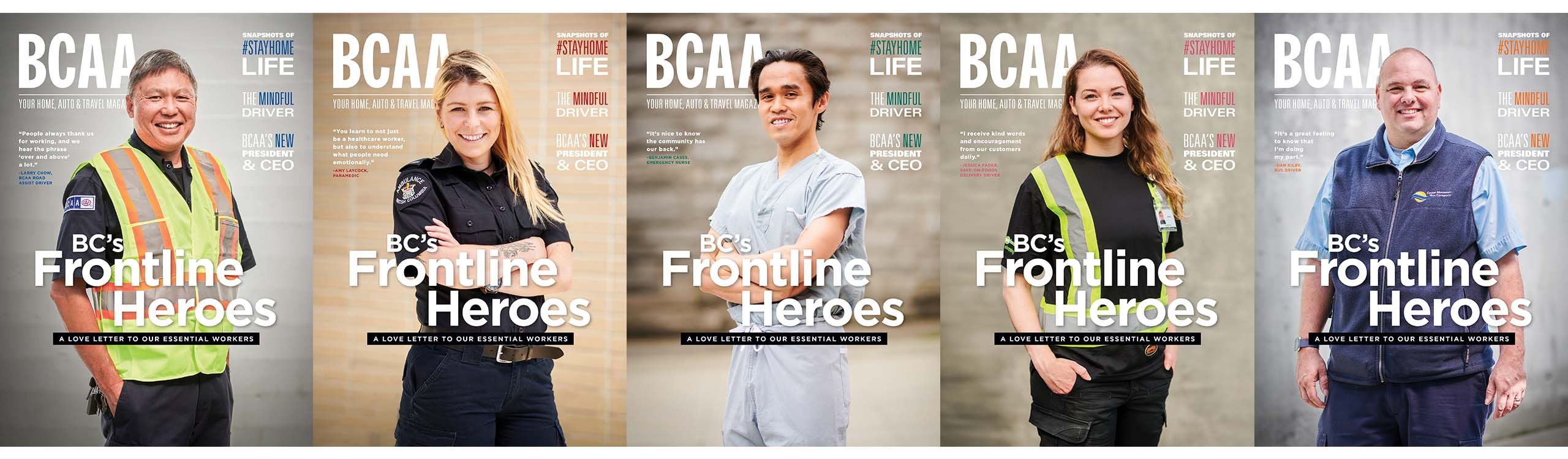 5 BCAA Magazine Covers
