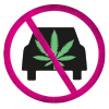 no driving high icon