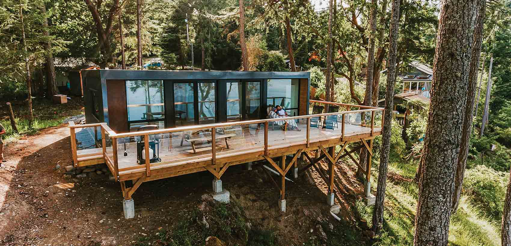 vacation property on salt spring island