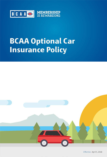 car insurance policy wording booklet