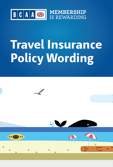 Travel Wording Booklet Cover